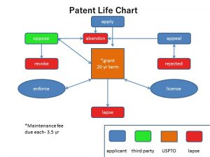 The life of a patent.